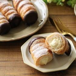 冷凍パイシートで簡単!型から手作り「サクッと美味しいパイコロネ」のレシピ