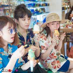 沖縄を満喫(写真提供:MBS)