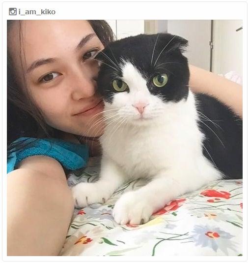 """猫好きが止まらない!""""愛猫家""""美女有名人の可愛すぎるペットに注目してみた/水原希子Instagramより"""