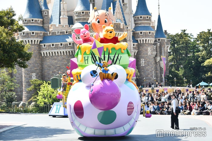 ピグレット、プーさん/パレード「ドリーミング・アップ!」(C)モデルプレス(C)Disney