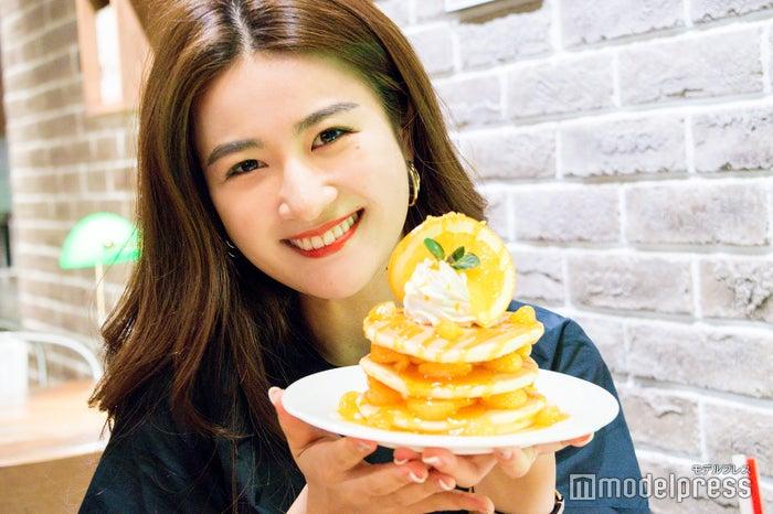 パンケーキはボリューム満点 (C)モデルプレス