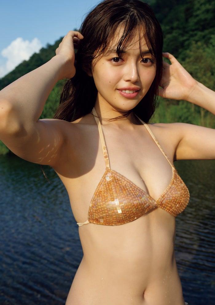 森日菜美(C)小塚毅之/週刊プレイボーイ