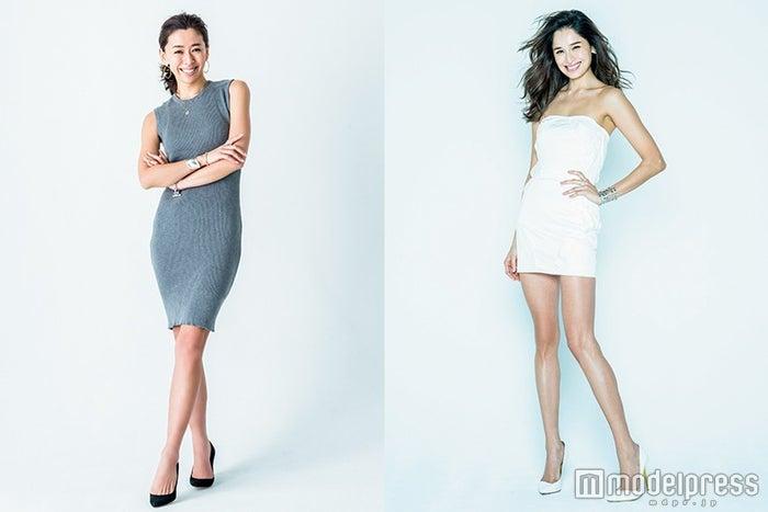 体型の変化を明かした野沢和香&Kelly/画像提供:セブン&アイ出版