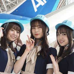 (左から)北野日奈子 鈴木絢音 渡辺みり愛(提供画像)