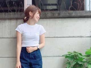 Tシャツよりもきちんと決まる♡ 「リブT」でラフじゃないコーデに簡単アップデート!