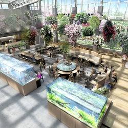 """日本初""""植物園スタバ""""よみうりランドの新エンタメ植物園にオープン"""