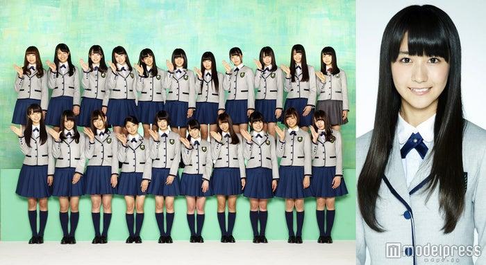 欅坂46「GirlsAward」出演決定!土生瑞穂(右)はモデルとしてランウェイを歩く!