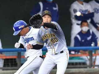 阪神・青柳が3回2失点 得点圏に走者背負うも要所締める