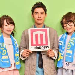 堀井新太 with まこみな(C)モデルプレス