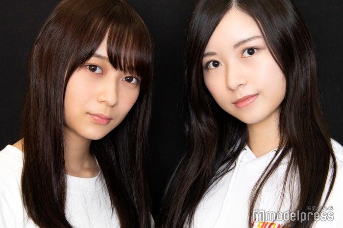 モデルプレスのインタビューに応じた、鈴木絢音&佐々木琴子(C)モデルプレス