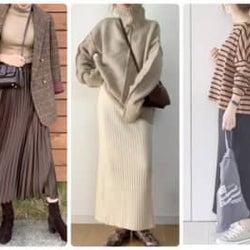 低身長女子さんにおすすめ!秋冬スカートの上手な着こなし方