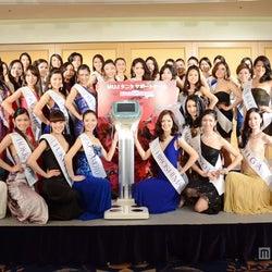 美女42人が艶やかドレスで集結 「2013ミス・ユニバース・ジャパン」ファイナリストが意気込み