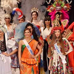 各国・地域代表74名「2014ミス・インターナショナル」