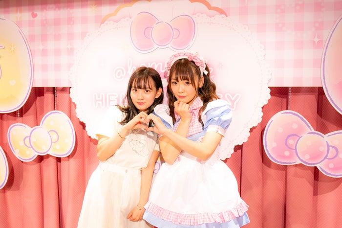 (写真左)青山舞莉(提供画像)