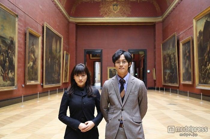 日本映画史上初のルーヴル美術館ロケを敢行(C)2014映画「万能鑑定士Q」製作委員会【モデルプレス】