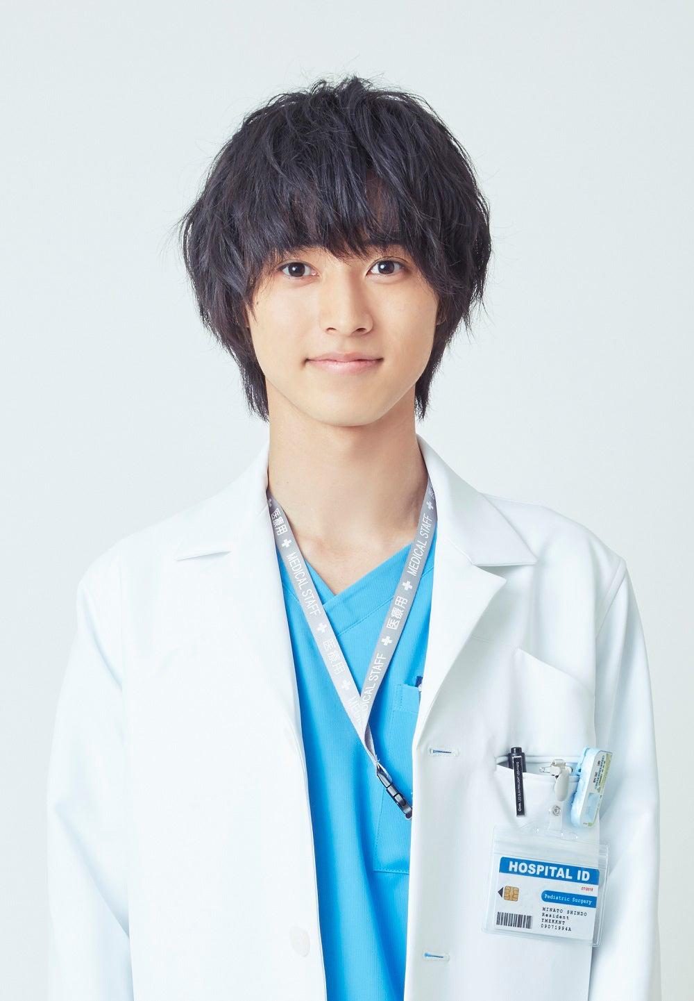 フジテレビ系新木曜劇場『グッド・ドクター』で主演を務める山崎