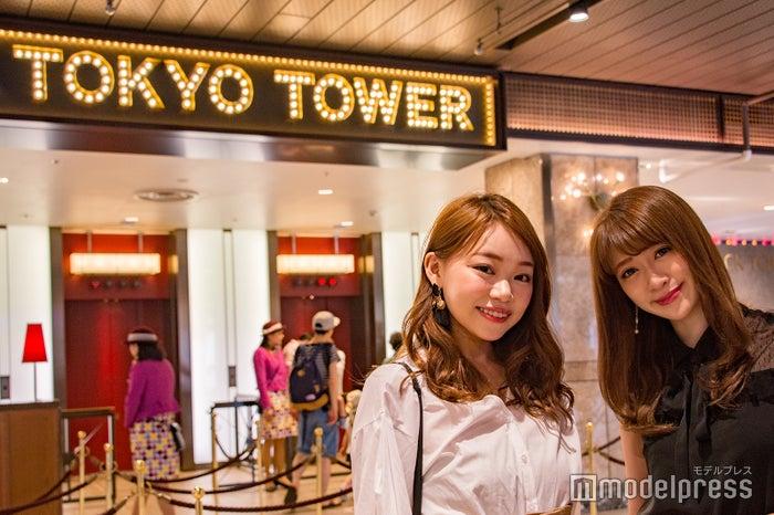 エレベーター前もおしゃれ(C)モデルプレス