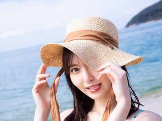 HKT48森保まどか、水着・ボディスーツ・レッスン着の美麗未公開カット公開<スコア>