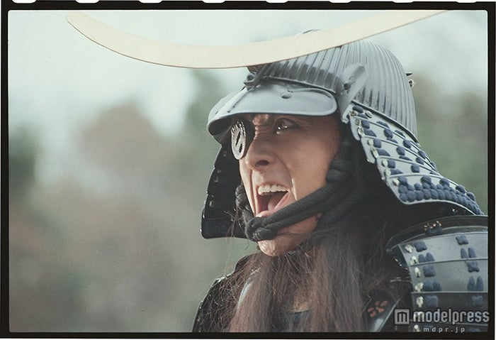 伊達政宗を演じた渡辺謙と映像で親子共演(C)NHK