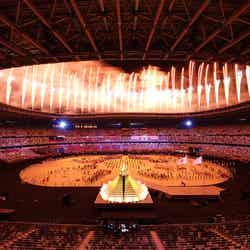 国立競技場で行われた開会式の様子/Photo by Getty Images