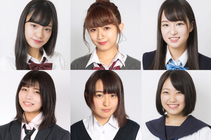 「女子高生ミスコン2017-2018」北海道・東北予選の候補者一部
