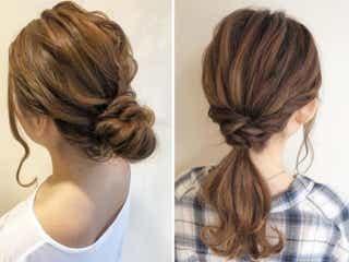 毛量多めさんにおすすめ!簡単にできてスッキリ見える、大人可愛いヘアアレンジ3選