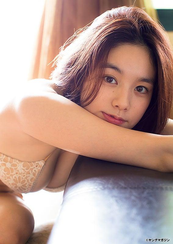 筧美和子(C)LUCKMAN/ヤングマガジン