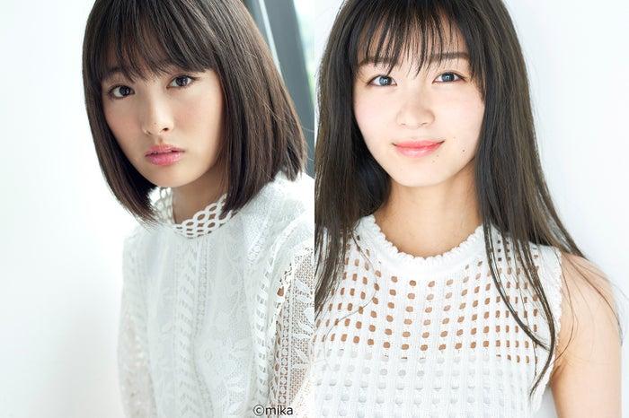 (左から)大友花恋(C)mika、岡崎紗絵(提供写真)