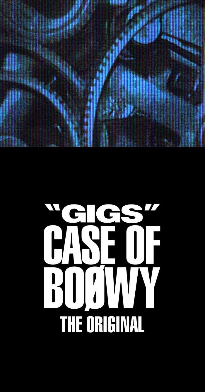 "BOOWY「"" GIGS "" CASE OF BOØWY - THEORIGINAL-」(画像提供:一般社団法人日本レコード協会)"