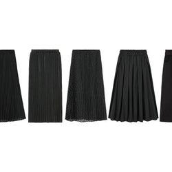 【GU】このスカート実は1番使えます!細見え効果バツグン万能「黒スカート」