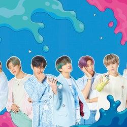 BTS、新アルバムのポップなビジュアル解禁
