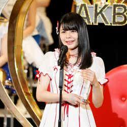 モデルプレス - NGT48本間日陽、圏外から初選抜で涙 速報勢いそのまま大躍進<第9回AKB48選抜総選挙>