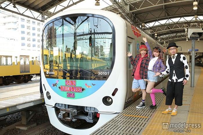 イベント電車を運行する「SEIBU HALLOWEEN 2015 in NERIMA」