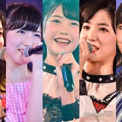 (左から)竹内美宥、本田仁美、千葉恵里、下尾みう、村瀬紗英 (C)モデルプレス