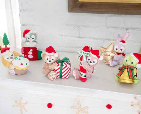 ダッフィー&フレンズ、クリスマス仕様の新グッズ登場 TDS20周年記念のぬいぐるみも