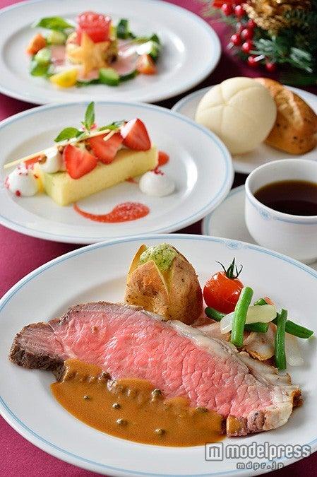 TDL「ブルーバイユー・レストラン」スペシャルコース(¥3800)(C)Disney