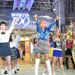 """青山テルマ、新曲で""""パラパラ""""に挑戦した理由 ギャル50人と渋谷109などで踊りまくる"""