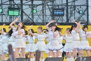 NMB48、最新曲&人気曲の白熱ステージ 沖縄で歓声<第11回沖縄国際映画祭>