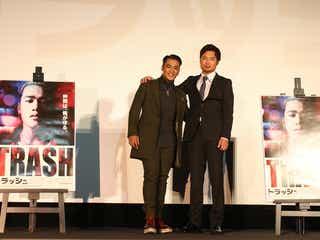 三代目JSB・ELLY、初主演映画『TRASH/トラッシュ』特別先行上映会で舞台挨拶に登場