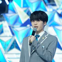 木全翔也「PRODUCE 101 JAPAN」最終回(C)LAPONE ENTERTAINMENT