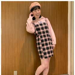 """モデルプレス - 尼神インター・誠子「ミイヒちゃんの真似っこ」ミニスカ衣装で""""セイヒ""""ちゃんに"""
