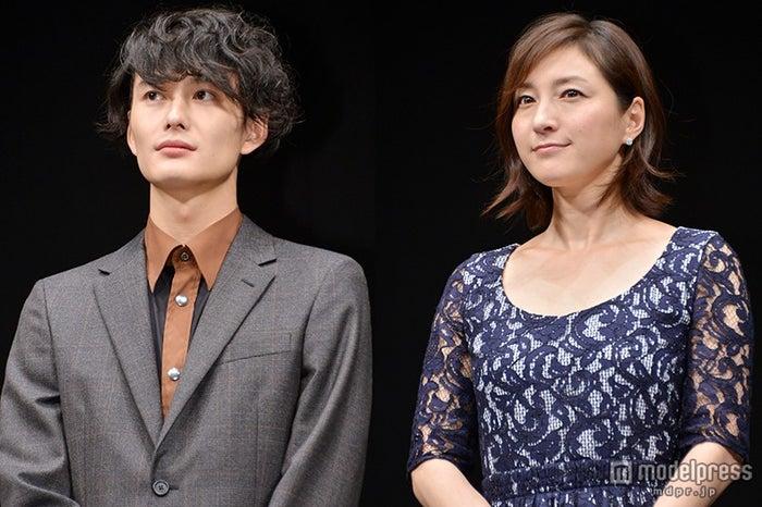 岡田将生(左)、広末涼子(右)