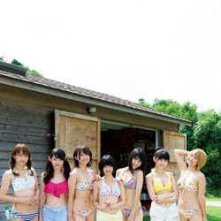 SUPER☆GiRLS(撮影:Takeo Dec./「月刊ヤングマガジン」10号より)