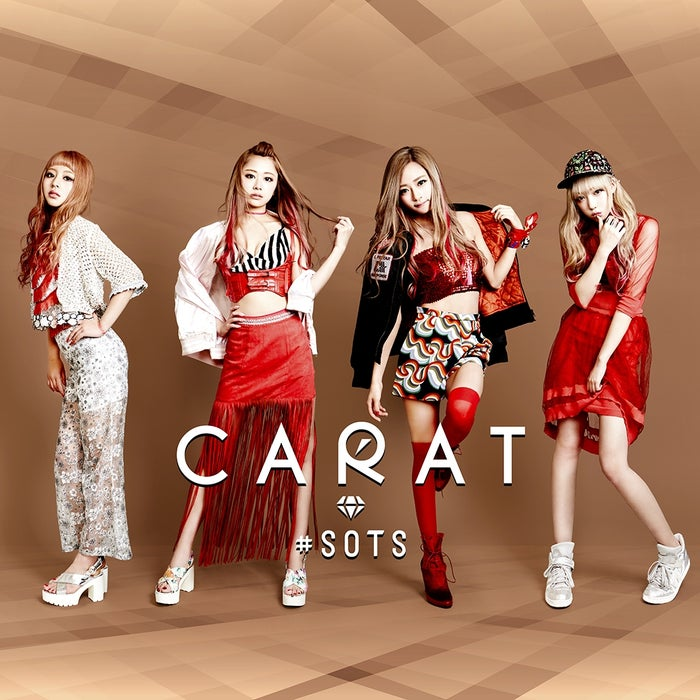 Caratメジャーセカンドシングル「#SOTS」 (2016年9月7日発売)【通常盤】
