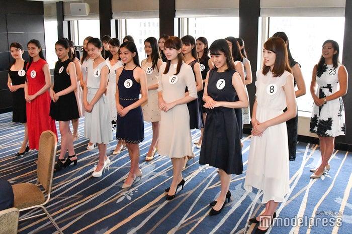 「ミス日本コンテスト 東日本地区大会」の様子 (C)モデルプレス