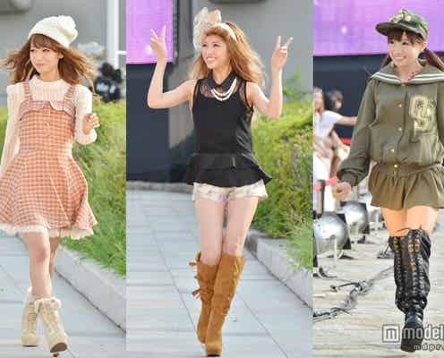 くみっきー、みずきてぃら「Popteen」モデル総出演ファッションショー<写真特集>