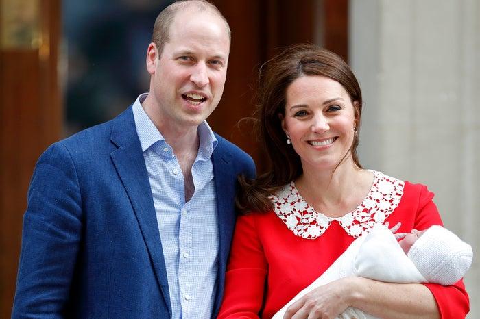 ウィリアム王子&キャサリン妃、第3子お披露目/写真:getty images