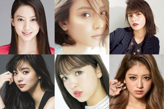 「GirlsAward 2019 AUTUMN/WINTER」第1弾出演者(提供写真)