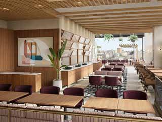 丸の内テラス最上階レストラン「THE UPPER(アッパー)」開放的なルーフトップエリアを完備