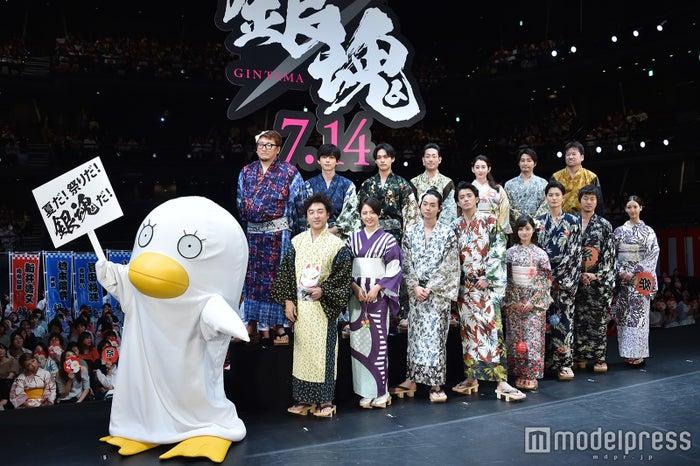2017年に公開された『銀魂』舞台挨拶(C)モデルプレス